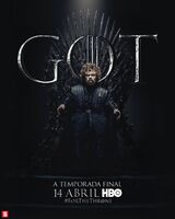 Poster S8 Tyrion Lannister