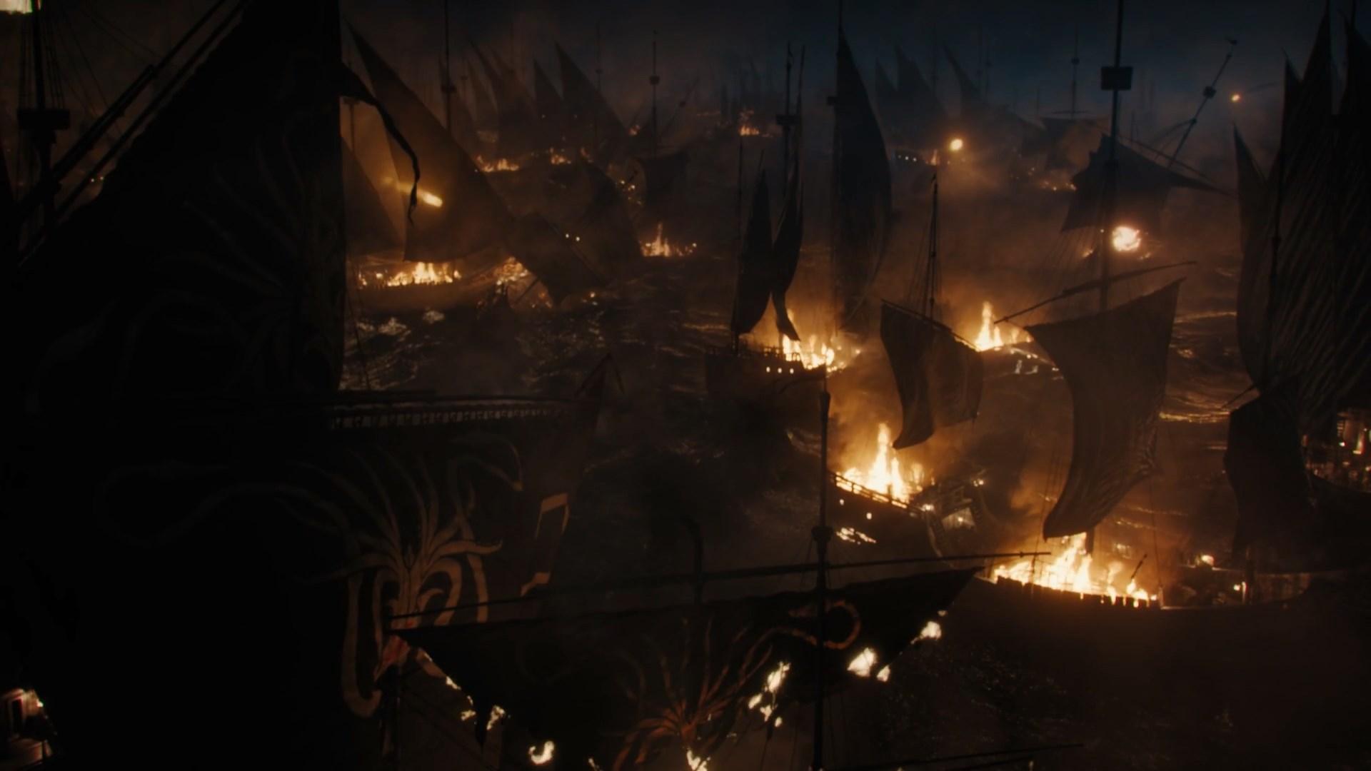 Assault on the Targaryen Fleet