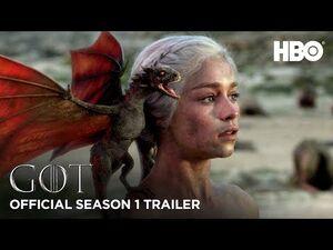 Game of Thrones - Trailer Recap da Primeira Temporada (HBO)