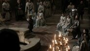 Eyrie court at Tyrion's trial