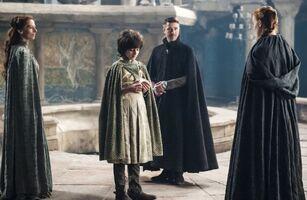 405 Lysa, Robin, Baelish und Sansa