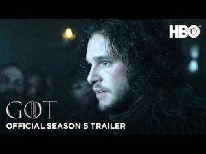 Game of Thrones - Trailer Recap da Quinta Temporada (HBO)