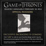 GoT Season 3 Packaging