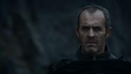 Stannis Baratheon on beach