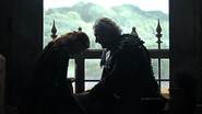 3x03 Brynden Comforting Catelyn