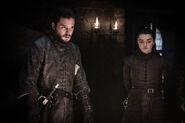 Jon & Arya S8 EP2