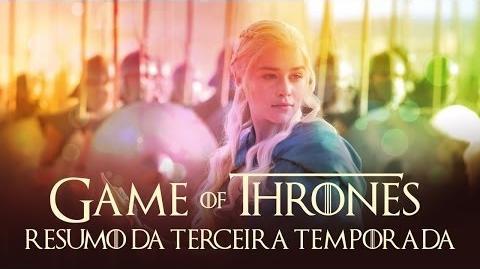 Entendendo Game of Thrones Resumo da terceira temporada