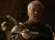 Ser Barristan challenging the court.