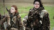 Ygritte and Jon Bear and Maiden Fair