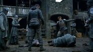 Theon beats Lorren