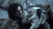 Jon Snow e Fantasma