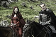 Melisandre and Stannis
