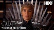 The Cast Remembers Lena Headey on Playing Cersei Lannister Game of Thrones Season 8 (HBO)