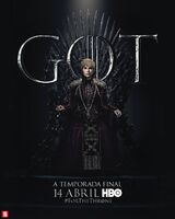Poster S8 Cersei Lannister