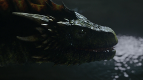 Rhaegal in the catacombs