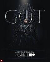 Poster S8 Arya Stark