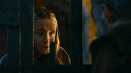 Shireen visits Davos Kissed by Fire