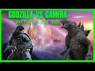 "Godzilla Vs Gamera- ""Battle Of The Gods"""