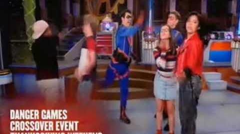 """""""Danger Games"""" Short Promo Henry Danger Game Shakers Crossover"""
