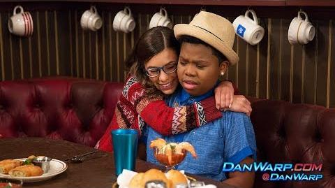 """Does Trip Love Babe? Babe Gets Crushed """"Game Shakers"""" Dan Schneider"""