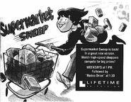 Supermarket Sweep Print Ad