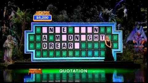 Wheel of Fortune 10 22 10 Episode -- Game Prize Wedge