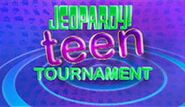 Jeopardy! Season 27 Teen Tournament Title Card