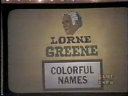 Colorful Names