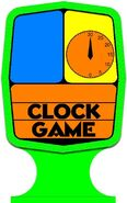 Clock Game Vector