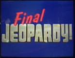 Jeopardy! 1998-1999 Final Jeopardy! intertitle