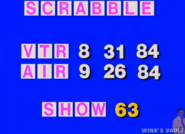 Scrabble 84 Production Slate