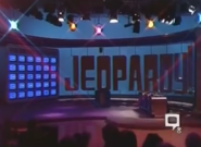 Jeopardy! Set with Closed Captioning