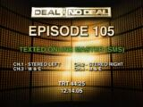 Deal or No Deal/Episode Guide