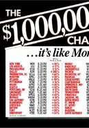 $1,000,000 Chance of a Lifetime ad 1