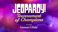 Jeopardy! Tournmennt of Champions Presented By Consumen Cellular