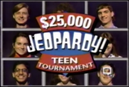 $25,000 Jeopardy! Teen Tournament 1992