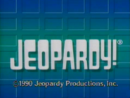 Jeopardy! 1990 copyright card
