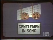 Gentlemen in Song