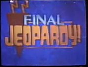 Jeopardy! 1993 College Championship Final Jeopardy intertitle