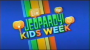 Jeopardy! Kids Week Season 29 Logo