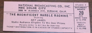 The Magnificent Marble Machine (March 20, 1976)