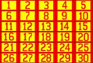 Concentration Board 1974