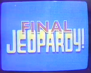 Final Jeopardy! Blue Bumps
