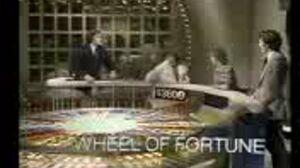 Wheel of Fortune Premiere Promo (1975)