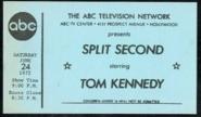 Split Second (June 24, 1972)