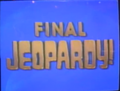 Jeopardy! 1992-1993 Final Jeopardy intertitle
