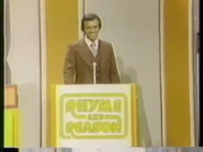 Rhyme and Reason Pilot Bob Eubanks Podium