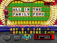WOF Sega CD All in the Family Feud