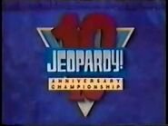 Jeopardy! Season 10 10th Anniversary Tournament Title Card
