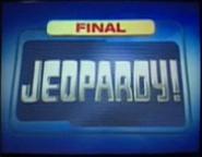 Jeopardy! 2001-2002 Final Jeopardy title card